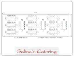 round banquet table sizes awesome here is a typical layout for a 20 60 tent