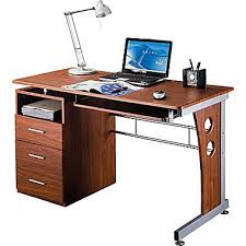 staples computer furniture. rta products techni mobili computer desk with storage mahogany rta3520m615 staples furniture 2