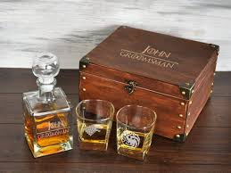 game of thrones groomsmen gift box personalized whiskey decanter gles set etched whiskey decanter set wedding gift for groom gift for best man got gift