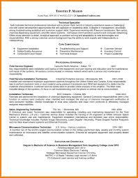 8 Core Competencies Cv Forklift Resume