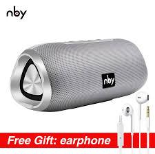 Nby 6670 Bluetooth Chống Nước Loa Di Động 3D Nhạc Stereo Âm Thanh Không Dây  Loa Ngoài Trời Loa Trầm Loa 10W Đài FM|Portable Speakers