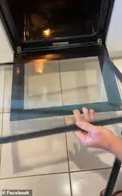 remove oven glass door in seconds