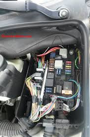 mercedes benz cls fuse list fuses box location engine main fuse box