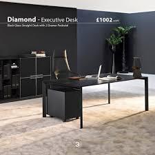 sinetica diamond veneer executive desks modern furniture office table93 table