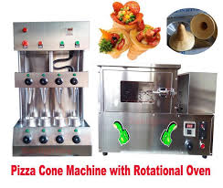 Vending Machine Pizza Maker Extraordinary COMMERCIAL PIZZA CONE Forming Making Maker Machine With Rotational