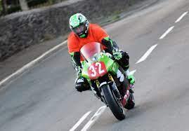 Ray Maloney (Kawasaki) 2018 Newcomers Manx Grand Prix #19224642