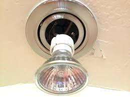 replace recessed light bulb lighting changing bulbs in high ceilings halogen problems