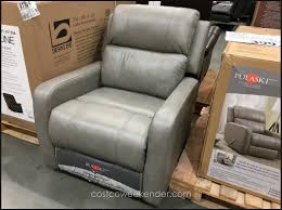 i just saw that costco is clearing out the gray pulaski manual leather recliner item 905691 299 99