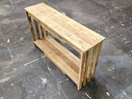 diy pallet sofa table. Recycled Pallet Table And Bookshelf Diy Sofa