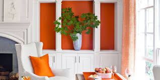 Orange Decorating For Living Room Decorating With Orange Accents Orange Home Decor
