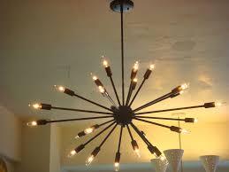 Gallery of High Quality Sputnik Light Fixture Example Design