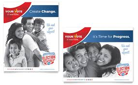 campaign poster templates free election poster template design