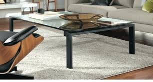 room and board round glass coffee table awesome with