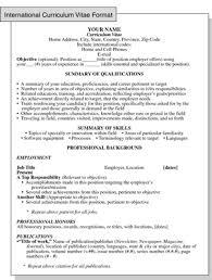 Resume Or Curriculum Vitae Samples Enchanting LaTeX Templates Curricula Vitae R Sum S Resume Examples Printable