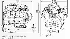 engine dimensions ls1 ls6 ls1 based truck engines