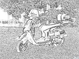 Scooter Kleurplaten 600ovh