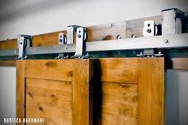 Plain Bypass Sliding Garage Doors And Barn Door Hardware For Simple Ideas