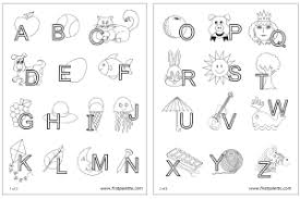 Printable Stencils For Kids Alphabet Letters Printable Templates Under Fontanacountryinn Com