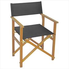 mimosa charcoal timber directors chair bunnings warehouse wooden directors chairs