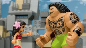 """Moana"" Movie as Told by LEGO - <b>LEGO Disney Princess</b> - Mini ..."