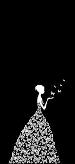 Cute Black And White Wallpaper For Phone