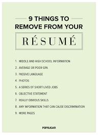 writing resumes tips