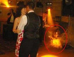 abraham lincoln ghost caught on tape. a creepy figure is spotted whilst couple are dancing abraham lincoln ghost caught on tape