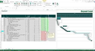 Ms Project Gannt Chart Papagantt The Big Daddy Of Xl Gantt Charts Beyond Excel