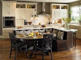 Enchanting Kitchen Decor: Impressing Kitchen Island With Table Attached 15  Beautiful Home Design Lover from