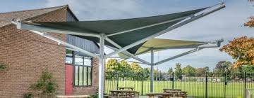 fabric canopies shade sails for