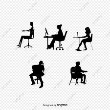 座っている人 座っている人 シルエット 人物画像素材の無料ダウンロード