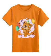 Детская футболка классическая унисекс <b>Мишка Тэдди</b> #2431838 ...