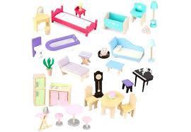 wooden barbie dollhouse furniture. Kidkraft Dollhouse Furniture Majestic Mansion Doll Houses Girls In Set . Wooden Barbie E