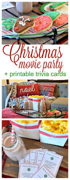 A Christmas movie night is a must do during the holiday season! This easy  Christmas