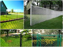 painting chain link fence gallery