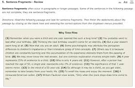 Sentence Fragments Solved 5 Sentence Fragments Review Aa Sentence Fragment