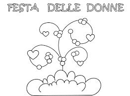 Festa Della Donnabigliettidisegni E Lavoretti Festa Della Donna