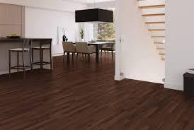 ... Inspiring Interior Design Using Eco Friendly Wood Flooring : Appealing  Interior Dining Room Decoration With Dark ...