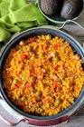 arroz con salchichas  vienna sausages