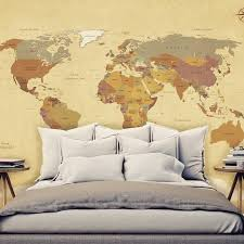mural vintage world map walldesign56 wall decals murals posters