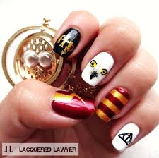 Harry Potter Nail Designs Harry Potter How To Paint A Character Nail Beauty On Cut
