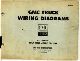gmc truck wiring diagrams all after 8 1964 repair manuals online gmc truck wiring diagrams all after 8 1964