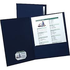 ... Marvelous Idea Resume Presentation Folder 2 Esselte Oxford Linen ...