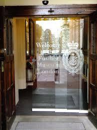 automatic frameless glass sliding door tower of london
