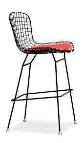 bertoia style wire bar or counter stool (multiple colors for frame