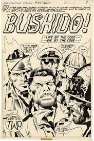 gallery of ic art by jack kirby our fighting forces the losers issue page 5