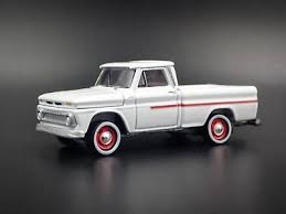 1965 CHEVY CHEVROLET Pickup Truck W/ Hitch Rare 1:64 Scale Diecast ...