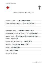free emergency room doctors note free bonus doctor notes template doctors excuse for school
