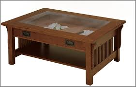 beautifull amish landmark glass top coffee table amish furniture white coffee table with drawers and glass