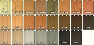 Wood Furniture Stain Color Chart Furniture Stain Colors Medalert Site